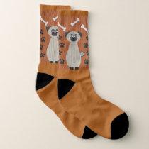 Chug the Pug Socks