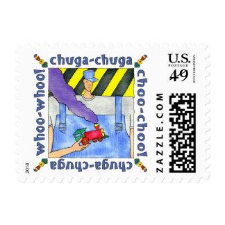 Chuga-Chuga Choo Choo Postage