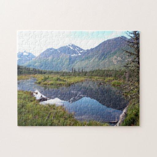 Chugach - el río Eagle Rompecabeza Con Fotos