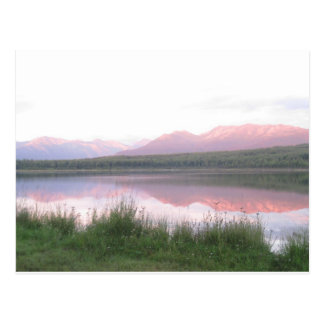 Chugach Mountains Alaska Postcard