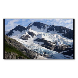 Chugach National Forest Magnetic Business Cards (Pack Of 25)