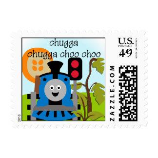Chugga Chugga Choo Choo Postage Stamps