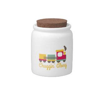 Chuggin Along Candy Jar
