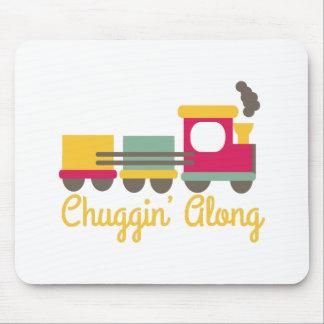 Chuggin Along Mousepads