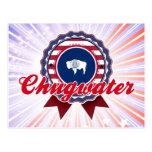 Chugwater, WY Tarjeta Postal