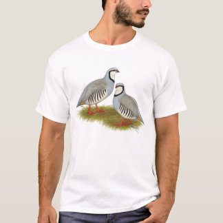 Chukar Partridge Pair T-Shirt