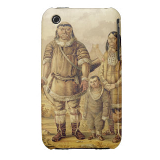 Chukchi Nomads, engraved by Winckelmann and Sons ( iPhone 3 Case
