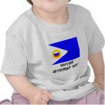Chukotka Autonomous Okrug Flag Tee Shirts