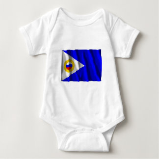 Chukotka Autonomous Okrug Flag Infant Creeper