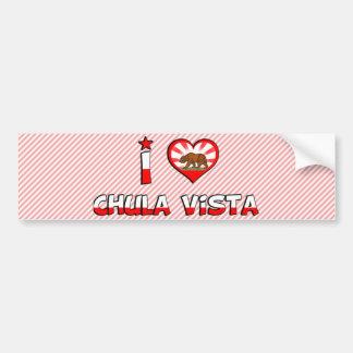Chula Vista, CA Car Bumper Sticker