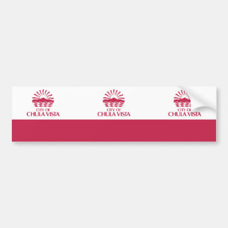 Chula Vista, California, United States Car Bumper Sticker