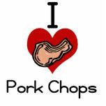 Chuleta de cerdo del amor-corazón I Esculturas Fotográficas