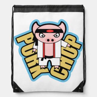 Chuleta de cerdo mochila