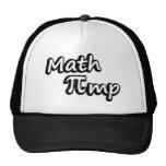 Chulo de la matemáticas gorras