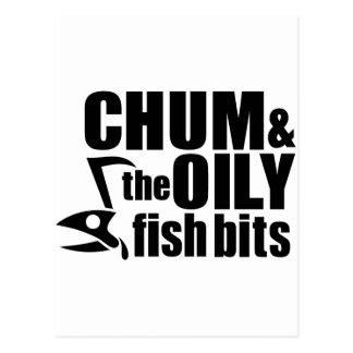 Chum & the Oily Fish Bits v1 Postcard