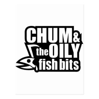 Chum & the Oily Fish Bits v2 Postcard
