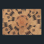 """Chumash Native American Art Placemat<br><div class=""""desc"""">Design created from a basketry tray of the Chumash people.  Back side shows the same design in a smaller size.   More items with this design at:  www.zazzle.com/aura2000/chumash</div>"""