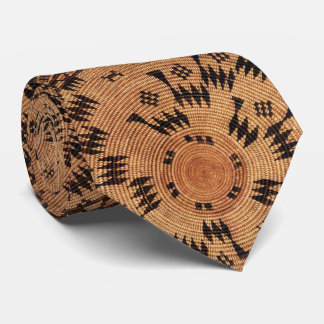 Chumash Native American Art Tie