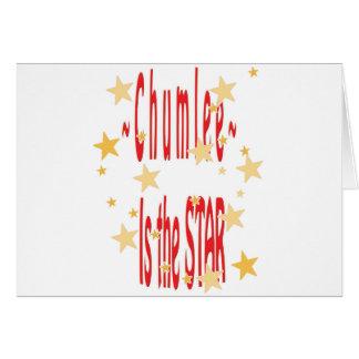Chumlee-Estrella Felicitaciones