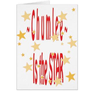 Chumlee-Estrella Tarjetón
