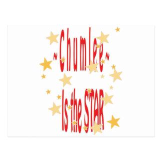 Chumlee-Estrella Postal