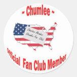 Chumlee-Fan-Club Classic Round Sticker