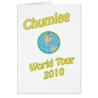 Chumlee-Mundo-Viaje Tarjetón