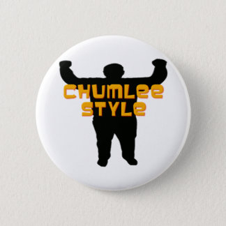 Chumlee Style Pinback Button