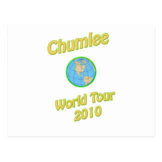 Chumlee-World-Tour Postcard