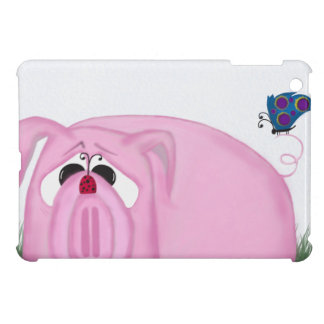 Chumley The Pig And His Visitors iPad Mini Covers