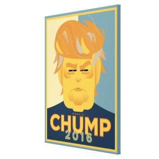 Chump 2016 canvas print