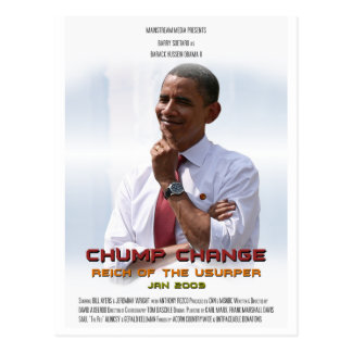 Chump Change (Obama) Postcards