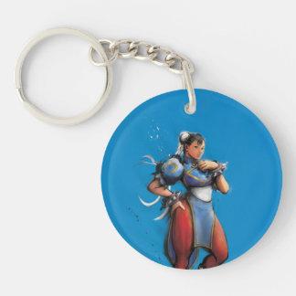 Chun-Li Hand on Hip Keychain