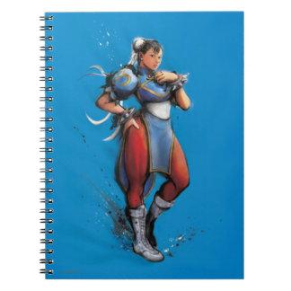 Chun-Li Hand on Hip Spiral Note Book
