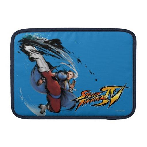 Chun-Li Kick MacBook Sleeve