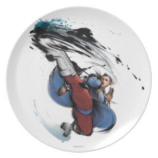 Chun-Li Kick Party Plates