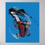 Chun-Li Kick Poster