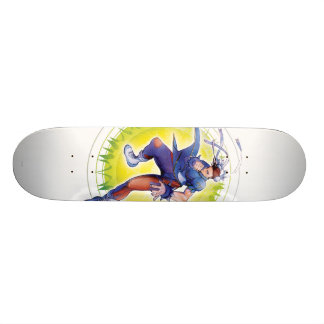 Chun-Li Skateboard Deck