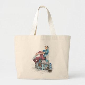 Chun-Li Tying Shoe Canvas Bags