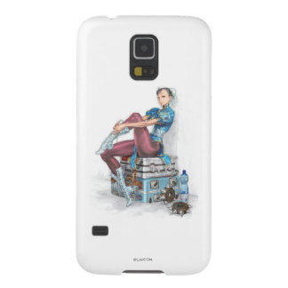 Chun-Li Tying Shoe Galaxy S5 Cover