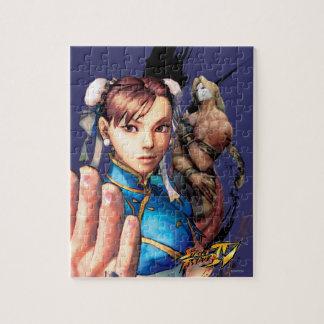 Chun-Li Vs. Vega Jigsaw Puzzle
