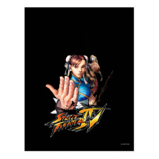 Chun-Li Vs. Vega Postcard