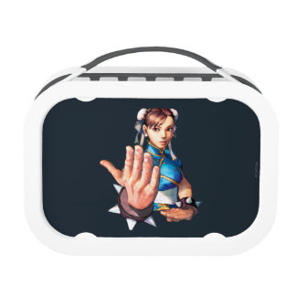 Chun-Li With Hand Up Yubo Lunchbox