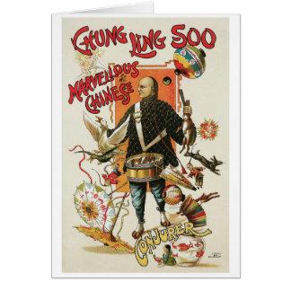 Chung Ling Soo ~ Vintage Chinese Magic Act Card