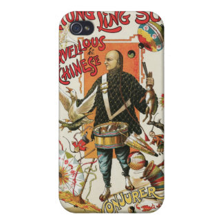 Chung Ling Soo ~ Vintage Chinese Magic Act iPhone 4/4S Case