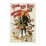Chung Ling Soo ~ Vintage Chinese Magic Act Postcard