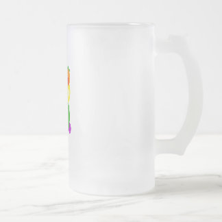 Chungy 16 Oz Frosted Glass Beer Mug
