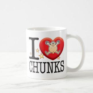 Chunks Love Man Classic White Coffee Mug