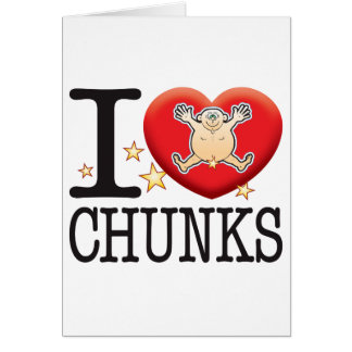 Chunks Love Man Greeting Card