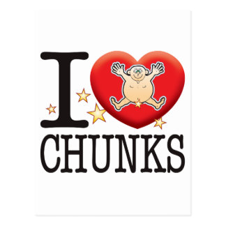 Chunks Love Man Postcard